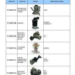 EGR VALVE SENSOR (EXHAUST GAS RECIRCULATION VALVE)