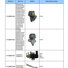 EGR VALVE SENSOR (EXHAUST GAS RECIRCULATION VALVE)