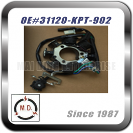STATOR PLATE for Honda 31120-KPT-902