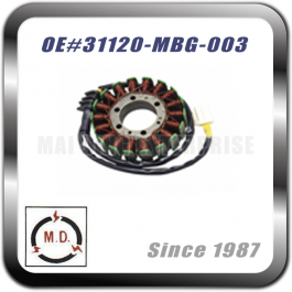 STATOR PLATE for HONDA 31120-MBG-003