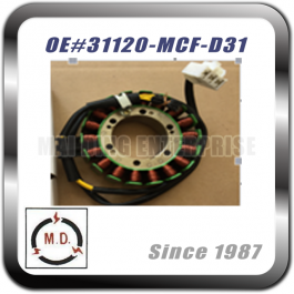 STATOR PLATE for Honda 31120-MCF-D31
