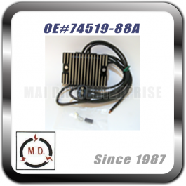 Voltage Regulator for Harley 74519-88A