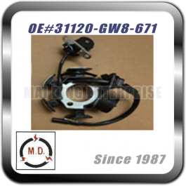 STATOR PLATE for Honda 31120-GW8-671