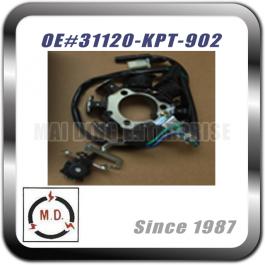 STATOR PLATE for Honda 31120-KPT-902